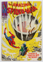 "1968 ""The Amazing Spiderman"" Issue #61 Marvel Comic Book at PristineAuction.com"