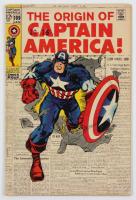 "1969 ""Captain America"" Issue #109 Marvel Comic Book at PristineAuction.com"