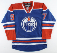 Connor McDavid & Wayne Gretzky Signed Oilers Jersey (PSA Hologram) at PristineAuction.com