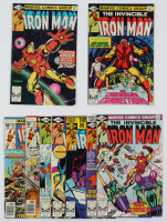 "Lot of (9) Vintage ""The Invincible Iron Man"" Issue Marvel Comic Books with #98, #99 & #136-141 at PristineAuction.com"