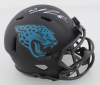 D. J. Chark Signed Jaguars Eclipse Alternate Speed Mini Helmet (Beckett COA) at PristineAuction.com