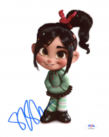 "Sarah Silverman Signed ""Wreck-It Ralph"" 8x10 Photo (PSA COA) at PristineAuction.com"