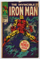 "1968 ""The Invincible Iron Man"" Issue #1 Marvel Comic Book at PristineAuction.com"