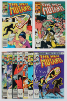 "Lot of (9) Vintage ""The New Mutants"" Issue Marvel Comic Books with #1-9 at PristineAuction.com"