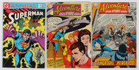 "Lot of (3) Vintage Comic Books with (2) ""Adventure Comics"" & (1) ""Superman"" at PristineAuction.com"