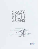 "Jon M. Chu Signed ""Crazy Rich Asians"" 8x10 Script Cover Photo (PSA Hologram) at PristineAuction.com"