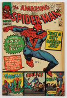 """1966 """"The Amazing Spiderman"""" Issue #38 Marvel Comic Book at PristineAuction.com"""