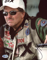 John Force Signed 8x10 Photo (Beckett COA) at PristineAuction.com