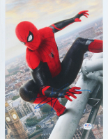 "Tom Holland Signed ""Spider-Man: Homecoming"" 8x10 Photo (PSA Hologram) at PristineAuction.com"