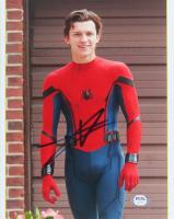 "Tom Holland Signed ""Spider-Man"" 8x10 Photo (PSA Hologram) at PristineAuction.com"