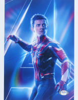 """Tom Holland Signed """"Avengers: Infinity War"""" 8x10 Photo (PSA Hologram) at PristineAuction.com"""