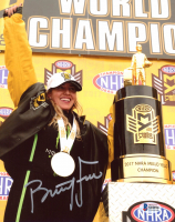 Brittany Force Signed 8x10 Photo (Beckett COA) at PristineAuction.com