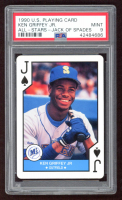 Ken Griffey Jr. 1990 U.S. Playing Cards All-Stars #11S (PSA 9) at PristineAuction.com