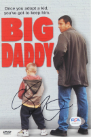"Adam Sandler Signed ""Big Daddy"" DVD Cover (PSA Hologram) at PristineAuction.com"