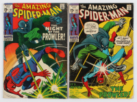 "Lot of (2) ""The Amazing Spider-Man"" Comic Books with 1971 #93 & 1969 #78 at PristineAuction.com"