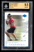 A.J. Feeley 2001 UD Graded #81 Action RC (BGS 9.5) at PristineAuction.com