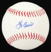Yogi Berra Signed OML Baseball (MLB Hologram) at PristineAuction.com