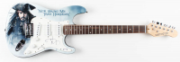 Johnny Depp Signed Electric Guitar (PSA Hologram) at PristineAuction.com