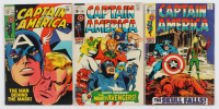 "Lot of (3) 1969 ""Captain America"" Comic Books with #119, #116 & #114 at PristineAuction.com"