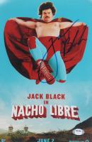 "Jack Black Signed ""Nacho Libre"" 8x12 Photo (PSA COA) at PristineAuction.com"