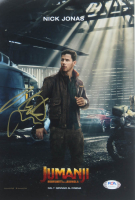 "Nick Jonas Signed ""Jumanji"" 8x12 Photo (PSA COA) at PristineAuction.com"