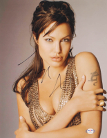 Angelina Jolie Signed 11x14 Photo (PSA COA) at PristineAuction.com
