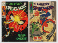 "Lot of (2) ""The Amazing Spider-Man"" Comic Books with 1969 #72 & 1967 #53 at PristineAuction.com"