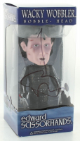 "Johnny Depp Signed ""Edward Scissorhands"" Funko Wacky Wobbler Bobble Head (PSA Hologram) at PristineAuction.com"