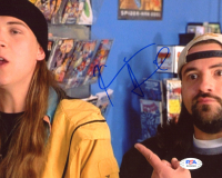 "Kevin Smith Signed ""Jay and Silent Bob"" 8x10 Photo (PSA COA) at PristineAuction.com"