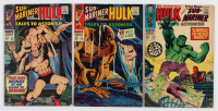 "Lot of (3) 1967 ""Tales to Astonish: Sub-Mariner and The Incredible Hulk"" Comic Books with #95, #92 & #94 at PristineAuction.com"