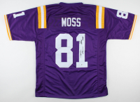 "Randy Moss Signed Jersey Inscribed ""2019 National Champs"" (Beckett Hologram) at PristineAuction.com"