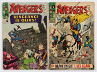 """Lot of (2) """"The Avengers"""" Comic Books with 1965 #20 & 1968 #48 at PristineAuction.com"""