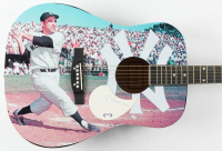 "Yogi Berra Signed Acoustic Guitar Inscribed ""9/2/89"" (PSA COA) at PristineAuction.com"