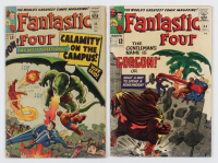 """Lot of (2) 1965 """"Fantastic Four"""" Comic Books with #35 & #44 at PristineAuction.com"""