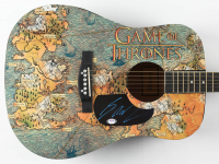 George R.R. Martin Signed Acoustic Guitar (PSA COA) at PristineAuction.com