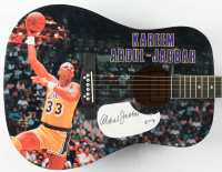 Kareem Abdul-Jabbar Signed Acoustic Guitar (PSA COA) at PristineAuction.com