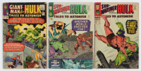 "Lot of (3) ""Tales to Astonish"" Comic Books with 1965 #69, 1965 #73 & 1967 #87 at PristineAuction.com"