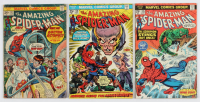 """Lot of (3) 1975 """"The Amazing Spiderman"""" Comic Books with #131, #138 & 145 at PristineAuction.com"""