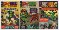 """Lot of (3) """"Tales to Astonish"""" Comic Books with 1965 #69, 1965 #73 & 1966 #75 at PristineAuction.com"""