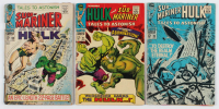 """Lot of (3) """"Tales to Astonish"""" Comic Books with 1967 #91, 1967 #98 & 1968 #100 at PristineAuction.com"""