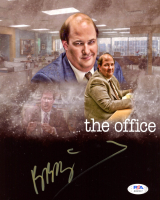 "Brian Baumgartner Signed ""The Office"" 8x10 Photo (PSA COA) at PristineAuction.com"