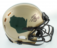 Jordy Nelson Signed Full-Size Authentic-On Field Helmet (Beckett COA) at PristineAuction.com