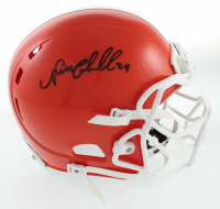 Nick Chubb Signed Full-Size Authentic On-Field Helmet (JSA COA) at PristineAuction.com