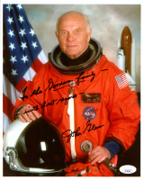 "John Glenn Signed NASA 8.5x10.5 Photo Inscribed ""with Best Regards"" (JSA COA) at PristineAuction.com"
