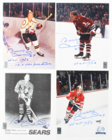 """Lot of (4) Bobby Hull Signed 8x10 Photos Inscribed """"HOF 1983"""" & """"12x NHL All Star"""" (Hull Hologram) at PristineAuction.com"""