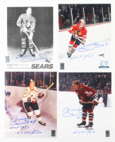 "Lot of (4) Bobby Hull Signed 8x10 Photos Inscribed ""HOF 1983"" & ""12x NHL All Star"" (Hull Hologram) at PristineAuction.com"
