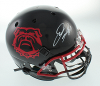 Jake Fromm Signed Full-Size Authentic On-Field Helmet (Beckett COA) at PristineAuction.com