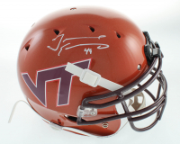 Tremaine Edmunds Signed Full-Size Authentic On-Field Helmet (Beckett COA) at PristineAuction.com
