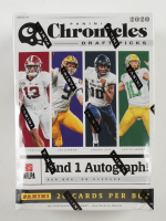 2020 Panini Chronicles Draft Picks Football Blaster Box with (4) Packs at PristineAuction.com