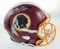 "Joe Theismann Signed Redskins Full-Size Speed Helmet Inscribed ""83 NFL-MVP"" (JSA COA) at PristineAuction.com"